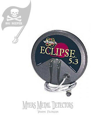 NEW White's Eclipse 5.3 Coil V rated + Free Coil Cover & Shipping!