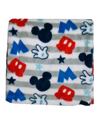 Disney Mickey Mouse Printed Super soft Fleece Baby Blanket 30