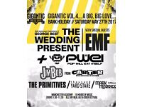 2 tickets for Gigantic Vol.4 (The Wedding Present/EMF/PWEI) at Manchester Academy on 27th May 2017