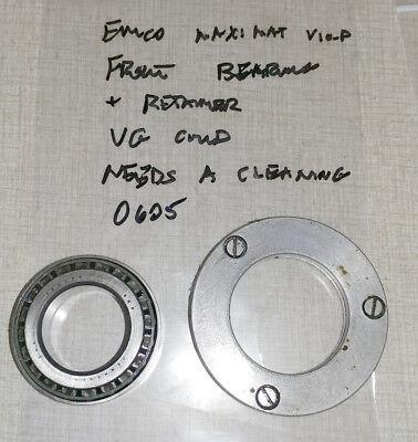 Emco Maximat V10-p Lathe Headstock Front Bearing Retainer 0605