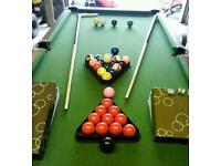 5ft pool & snooker table