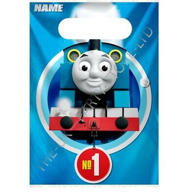 THOMAS THE TANK ENGINE LOOT BAGS Birthday Party Supplies Kids Party Favour Kids ()