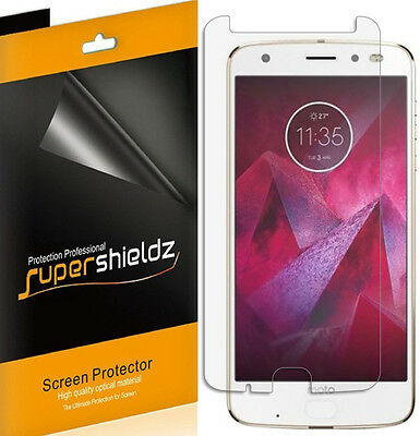 6X Supershieldz Anti Glare (Matte) Screen Protector For Motorola Moto Z2 Current