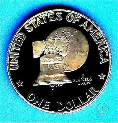 1976 Proof Eisenhower Dollar - Type 1- Deep Cameo 1976 Eisenhower Dollar Type