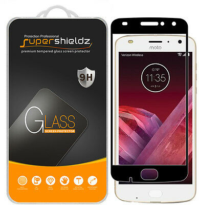 "Supershieldz Motorola ""Moto Z2 Play"" Plump Cover Tempered Glass Screen Protector"