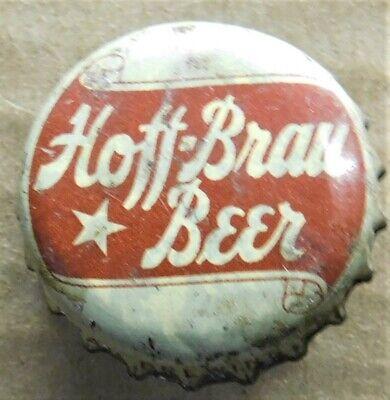 HOFF-BRAU beer bottle cap WITH CORK Fort Wayne IN Indiana