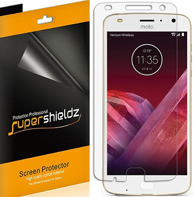 6X Supershieldz HD Unobstructed Screen Protector Saver For Motorola Moto Z2 Play