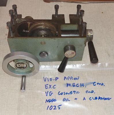 Emco Maximat V10-p Lathe Apron Assembly  1025
