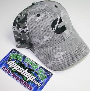dadffff023ae0 Digital Camo Dodge Cummins hat ball cap trucker mesh overlay snap back  cummings