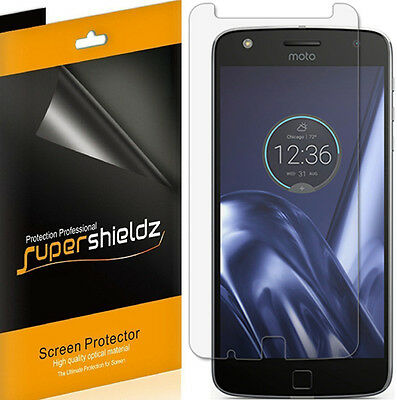 6X Supershieldz HD Disengaged Screen Protector Saver Shield For Motorola Moto Z Play