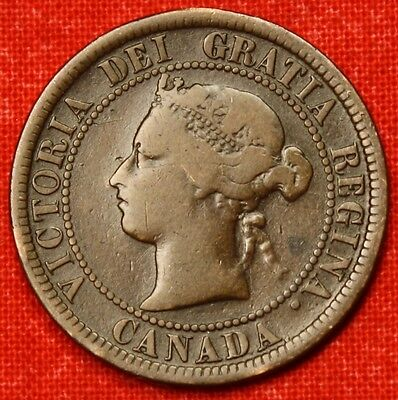 1876 H CANADA LARGE CENT PENNY GREAT COLLECTOR COIN GIFT   $ CALC61