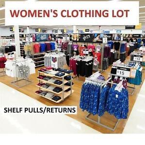 200 ASSTD WOMEN'S CLOTHING LOT CLOTHES - SHIRT - PANTS - LADIES 109261654