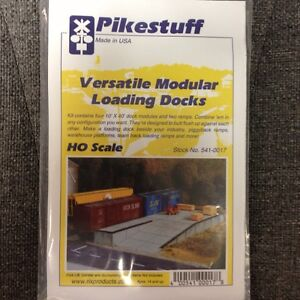 Pikestuff 17 Loading Docks - Modular Kit - HO Scale RIX 541-0017   modelrrsupply