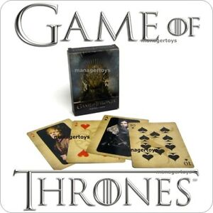 Game of Thrones Poker Card Set 52 Karten SEALED SINGLE DECK