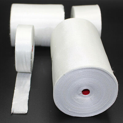 Fiberglass Cloth Tape E-glass Fiber Plain Weave Fabric Repair 0.18mm15030m New