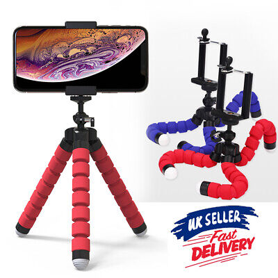 For Stand iPhone Tripod Phone Holder Octopus Mini Camera Bracket Flexible