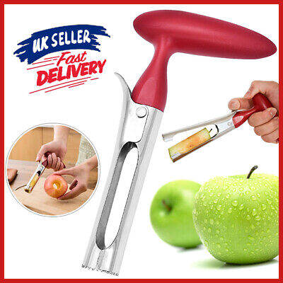 Stainless Steel Twist Apple Kitchen Tool Corer Remover Seed Handheld Fruit Core