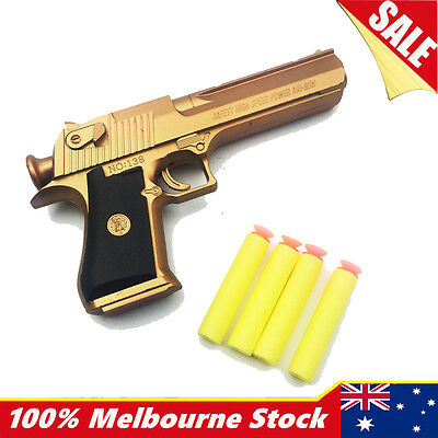 Police Pistol Toy Gun Weapon Boys Army Desert Eagle Compatible Nerf Bullets