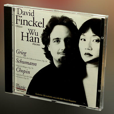 Grieg Schumann Chopin - David Finkel (cello) - Wu Han(piano) - música cd álbum