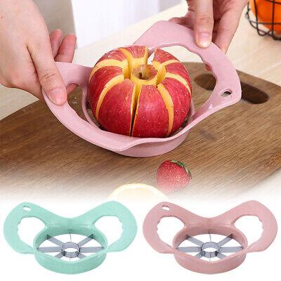 Apple Slicer Fruit Corer Knife Tool Easy Cutter Divider MB Stainless Steel