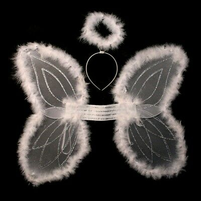Marabou Angel Wings And Halo Set (Angel Wings And Halo Set)