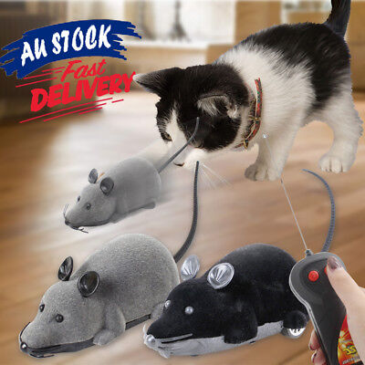 Simulation flocking Wireless mouse Mice Rat Toy remote control RC Electronic