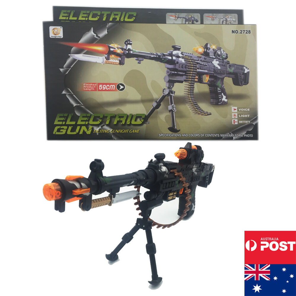 Toy Guns For Boys : New plastic police toy gun battery weapon kids rifle