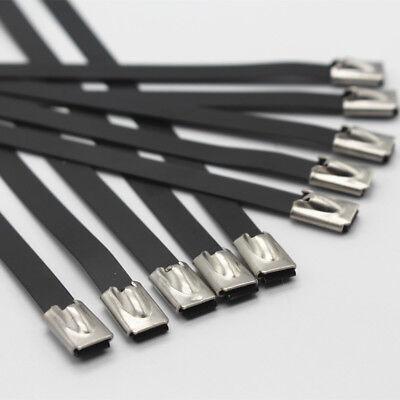 Stainless Steel Marine Grade Metal Cable Ties Zip Tie Self-locking Multi Length
