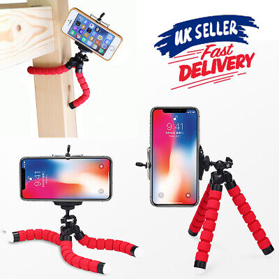 Camera Flexible Bracket iPhone Mini Phone Holder For Stand Octopus Tripod