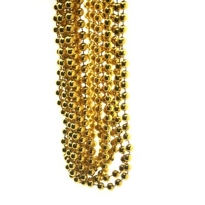 Metallic Gold Bead Necklaces - Gold Bead Necklaces
