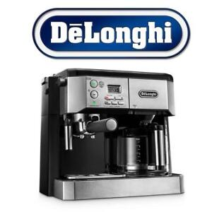 NEW DELONGHI COFFEE MACHINE BCO430 200334269 PUMP ESPRESSO FROTHING WAND SILVER/BLACK