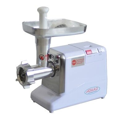 HAKKA #12 Electric Meat Grinder Butcher Shop 3 Cutting Blades