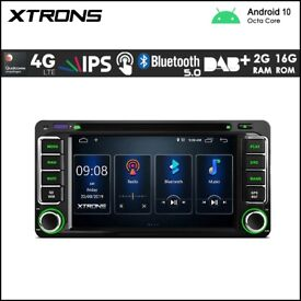 Xtrons PSD60HGT Toyota 6.2 inch Android Navigation Multimedia Player with Built-in DSP and 4G