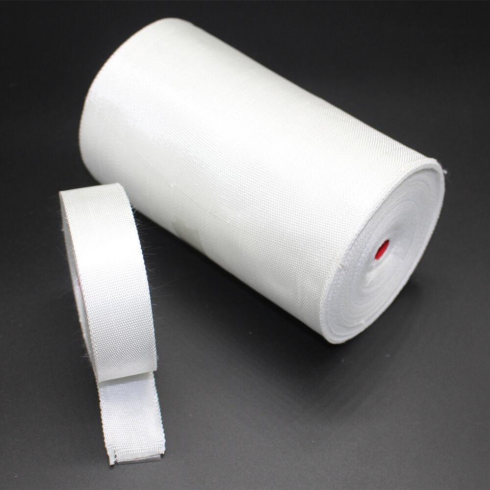 25mm wide Plain Weave Fiberglass Cloth Tape E-Glass  Fiber