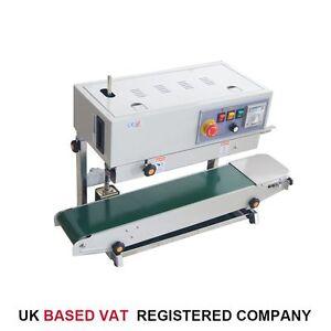 832456 Automatic Bag Band Continuous Sealing Packing Machine Sealer VAT Free P&P