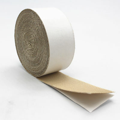 Adhesive Silica Cloth Exhaut Wrap Tape High Temp 2300f Heat Shield 2 X 50ft