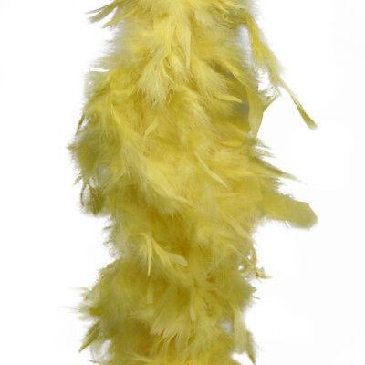 Yellow Feather Boa (Yellow Feather Boa (6', 60)