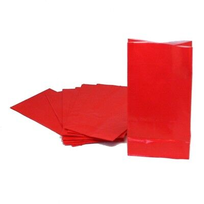 Red Paper Treat Bags (Red Treat Bags)