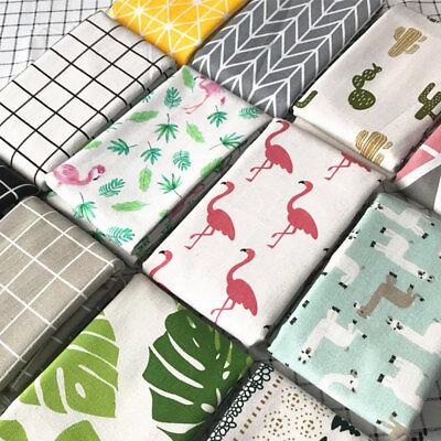 Fashion Geometric Printed Natural Cotton Linen Fabric Cloth DIY Upholstery Craft](Diy Diaper)