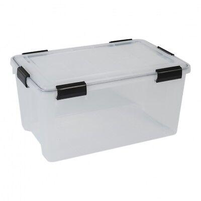Kunststoffbox Lagerbox Campingbox Stapelbox Aktenbox Dichtungsring für Nässe 50