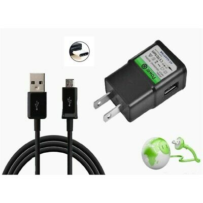 """SET 10Ft  Charger Power Cord for ONN ANDROID Tablet 7"""" 8"""" 10""""   NOT for Windows"""