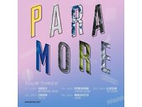 2 x standing Paramore tickets, Friday 19th January, Manchester Arena