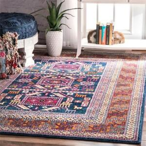 "New  nuLOOM Southwestern  Tribal Tale Area Rug, Navy (5' x 7' 5"" Feet) Condition: New, RZBD48A-5075"