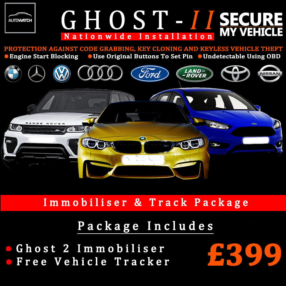 AUTOWATCH GHOST 2 IMMOBILISER WITH FREE TRACKER / BMW,AUDI, RANGE ROVER &  MORE / OFFICIAL INSTALLERS | in Southampton, Hampshire | Gumtree