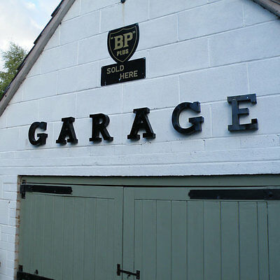 GARAGE 3D metal letter set mancave wall sign man cave shed workshop VAC135