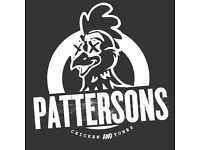 Pattersons - Bartender/Server Positions Available
