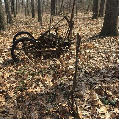 Antique Farm Machinery- Two-row Seed Planter Price Reduced
