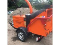 2010 Timberwolf Tw150 Wood Chipper