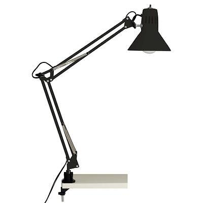 Brilliant 1080206 - Hobby Klemm Büro Tisch Leuchte Lampe Retro Vinatge Lese NEU