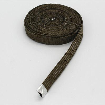 - Heat Resistant Cable / Hose Titanium Protect A Sleeve 1/2